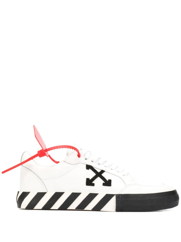 Off-White Vulcanized Low Branco/Preto