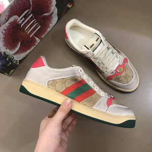 "Gucci Screener ""Beje/Rosa/Marrom/Verde"""