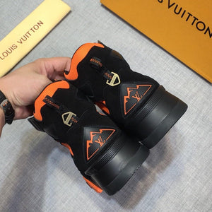 Louis Vuitton Hiking Preto/Laranja (PRONTA ENTREGA)