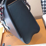 "Bolsa Louis Vuitton Twist MM ""Preta"""