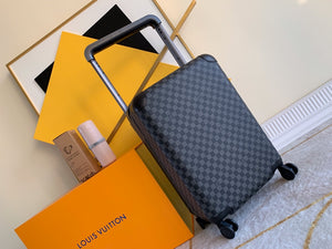 "Mala Louis Vuitton Horizon 55 Canvas Damier Graphite ""Black"""