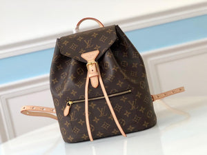 "Mochila Louis Vuitton Sperone ""Canvas Monograma""  (PRONTA ENTREGA)"