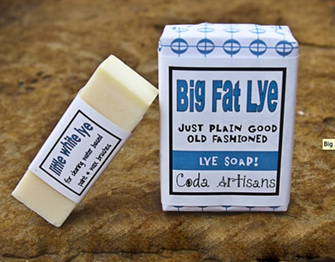 Big Fat Lye & Little White Lye Soap