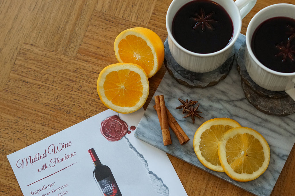 Mulled Wine Recipe with Frontenac