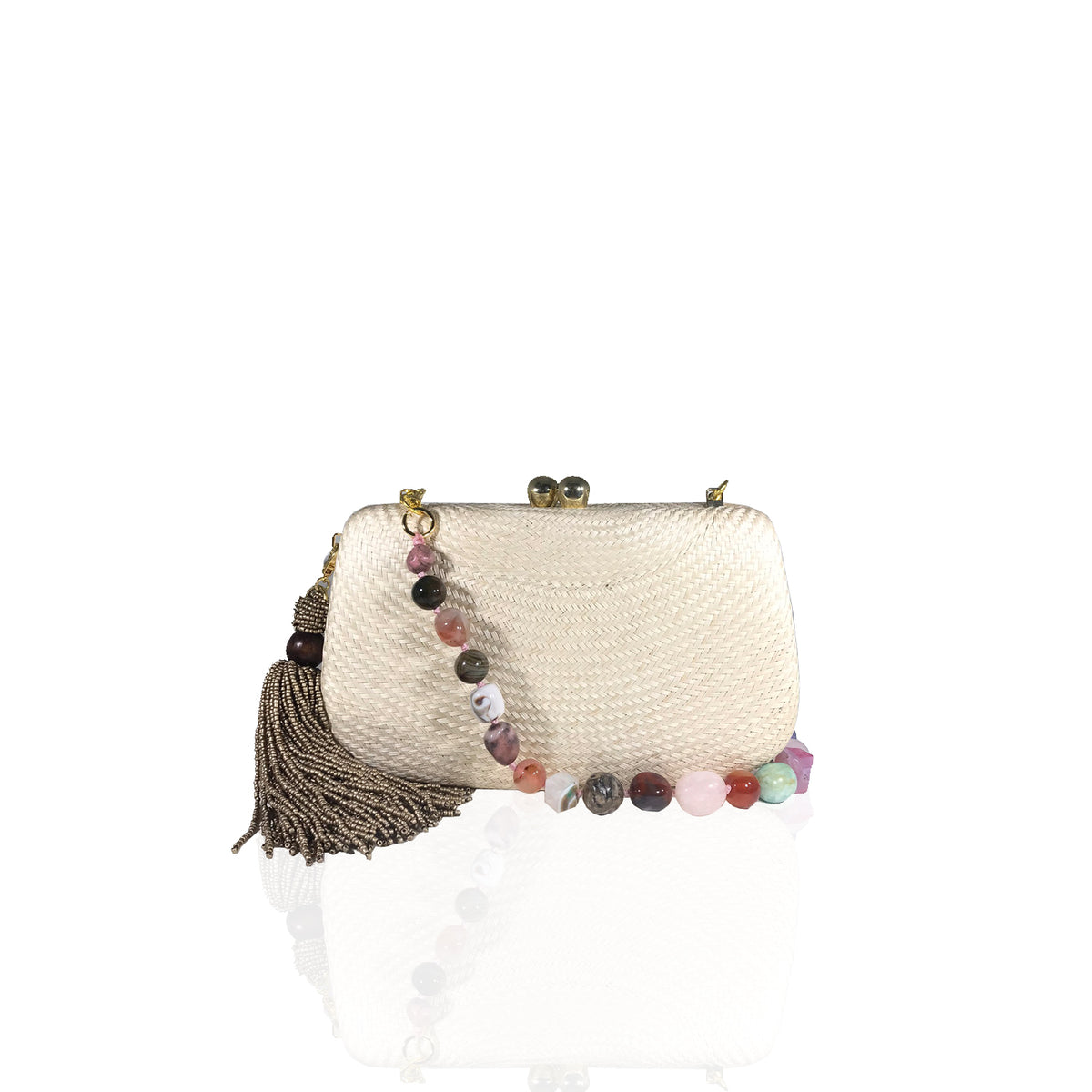 Clutch Palha Mary Sand