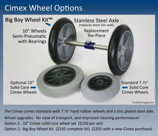 Cimex Wheel Options - Big Boy Wheel Kit