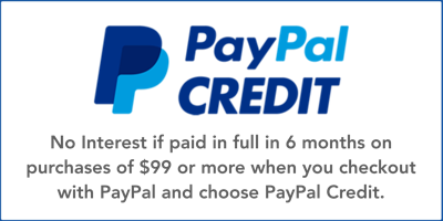 Get 6 months interest free when you checkout with PayPal Credit