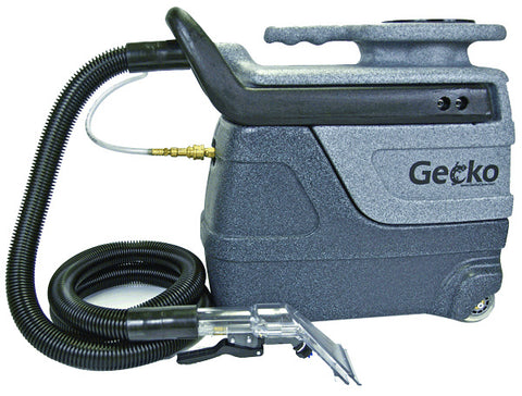 Gecko prtable extractor for upholstery, auto-detailing, and spot removal