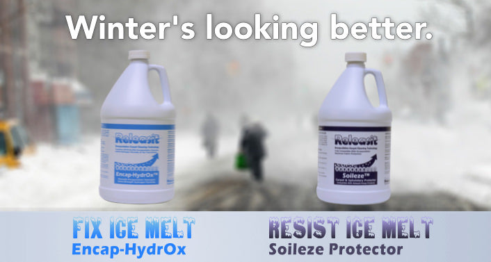 Fix Ice Melt from road salt with Releasit