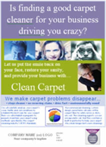 carpet cleaning supply, marketing system, commercial carpet cleaning