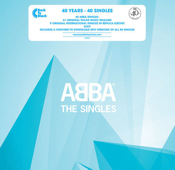 ABBA ‎– THE SINGLES (40 YEARS - 40 SINGLES) 7