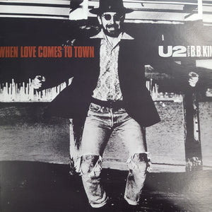U2 - WHEN LOVE COMES TO TOWN (EP) (USED VINYL 1989 CANADIAN M-/M-)