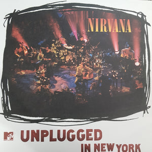 NIRVANA - UNPLUGGED IN NEW YORK (USED VINYL 2009 US M-/M-)