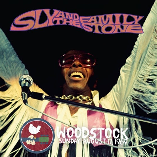 SLY & THE FAMILY STONE - WOODSTOCK SUNDAY AUGUST 17 1969 VINYL