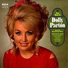 DOLLY PARTON - THE BEST OF (USED VINYL 1970 CANADA EX+/EX+)