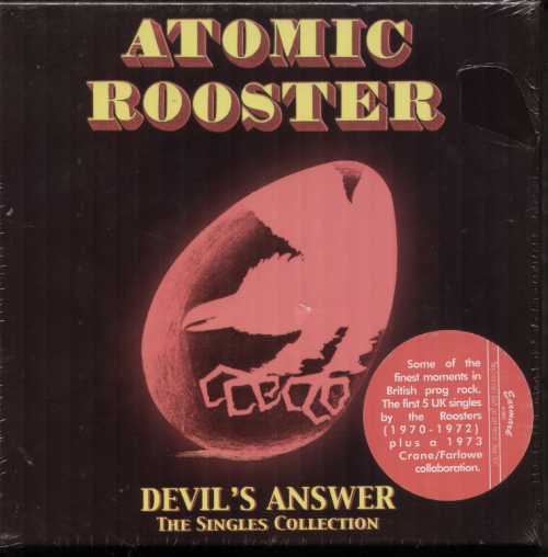 ATOMIC ROOSTER ‎– DEVIL'S ANSWER - THE SINGLES COLLECTION (5x7