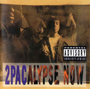 2PAC - 2PACALYPSE NOW (2LP) VINYL