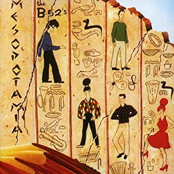 B-52'S - MESOPOTAMIA (USED VINYL 1987 GERMANY M-/EX+)