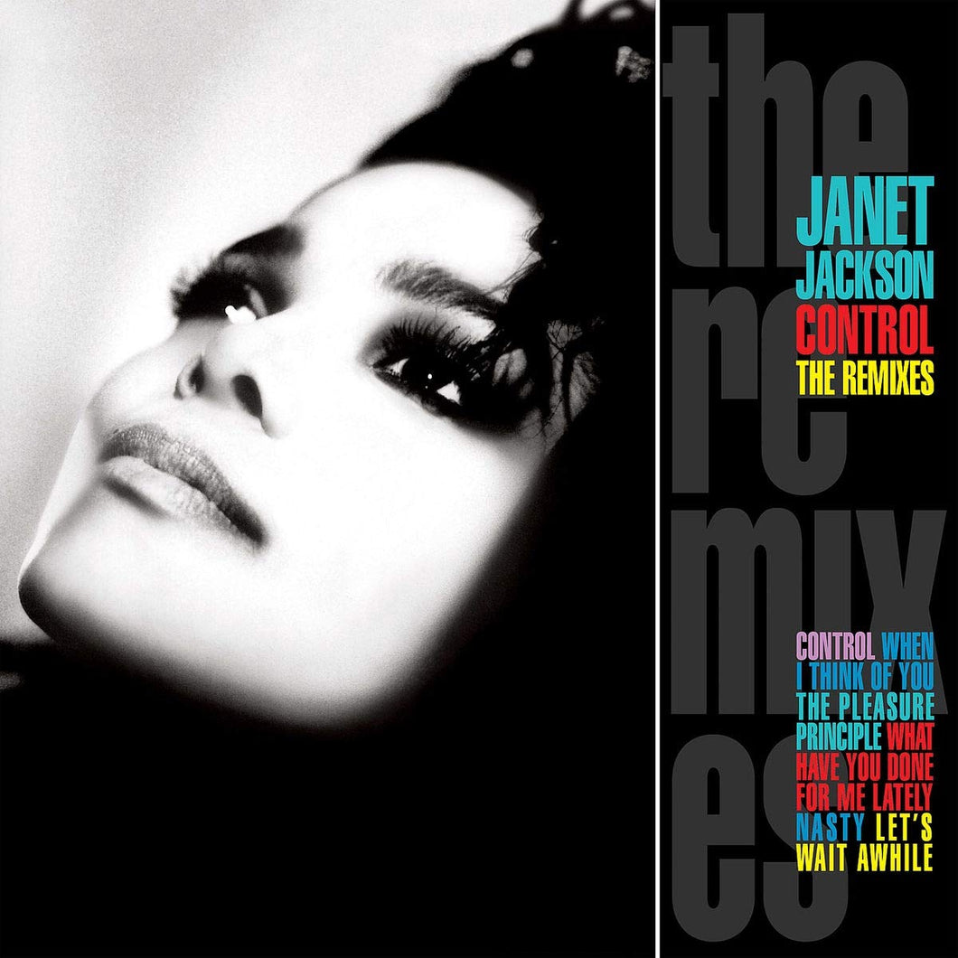 JANET JACKSON - CONTROL: THE REMIXES (2LP) VINYL