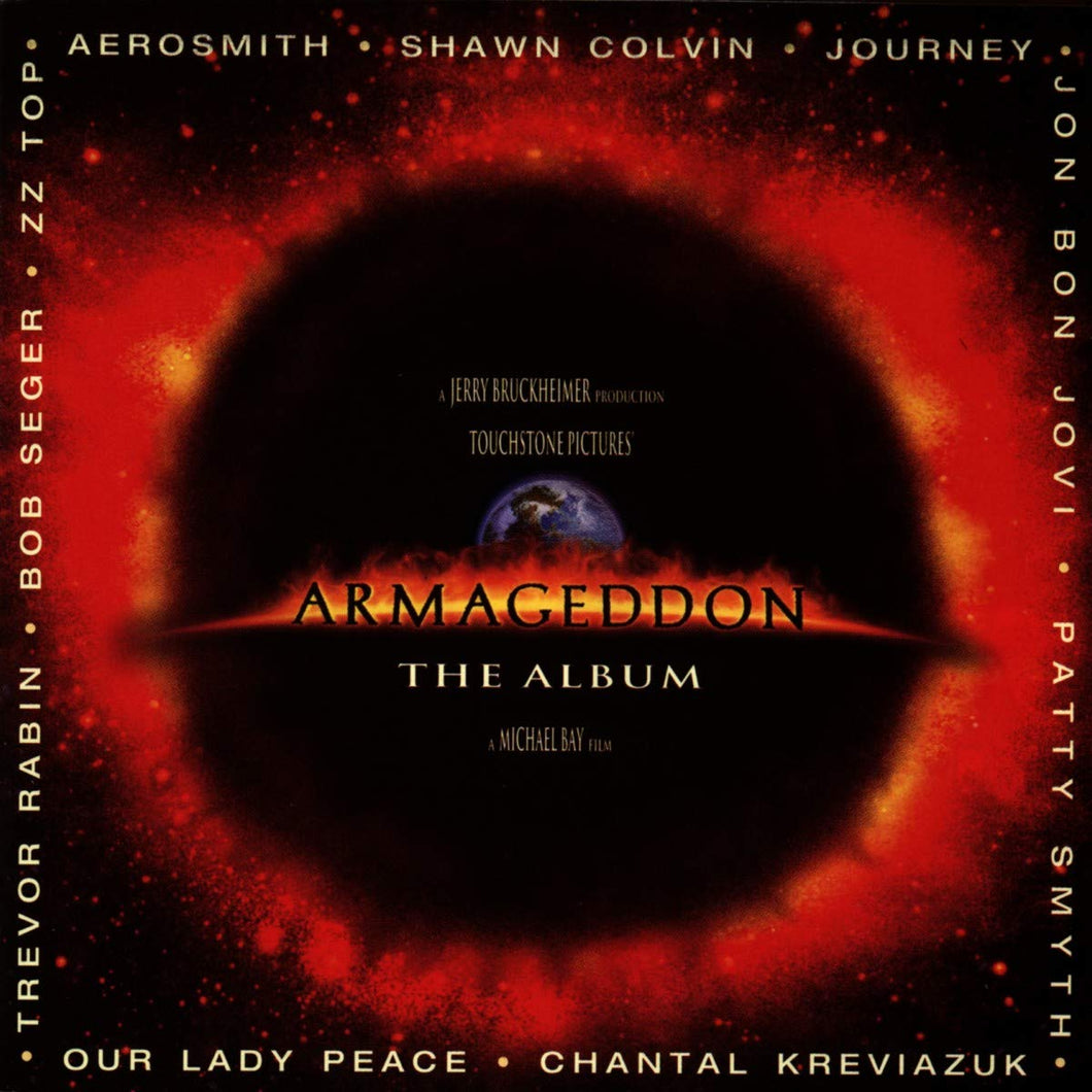 VARIOUS - ARMAGEDDON THE ALBUM SOUNDTRACK (2LP) VINYL