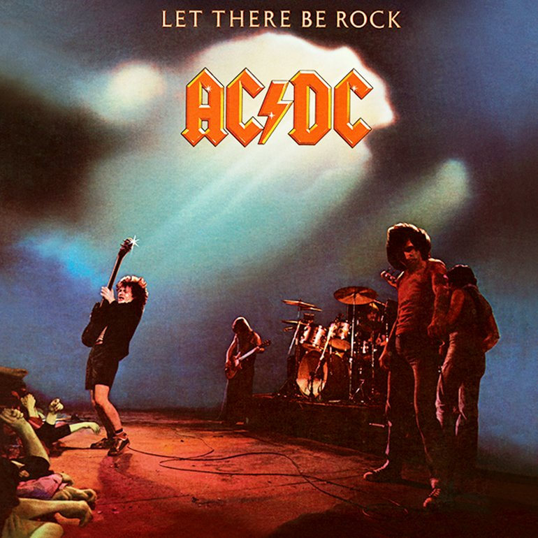 AC/DC - LET THERE BE ROCK VINYL