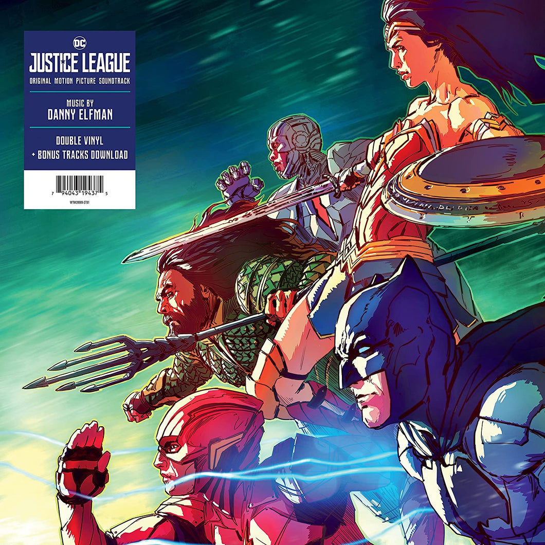 DANNY ELFMAN - JUSTICE LEAGUE SOUNDTRACK VINYL