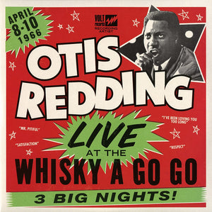 OTIS REDDING - LIVE AT THE WHISKY A GO GO (2LP) VINYL