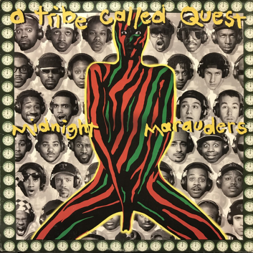 A TRIBE CALLED QUEST - MIDNIGHT MARAUDERS VINYL