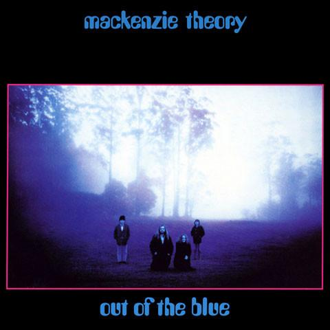 MACKENZIE THEORY - OUT OF THE BLUE ‎CD