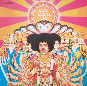 JIMI HENDRIX EXPERIENCE - AXIS: BOLD AS LOVE VINYL