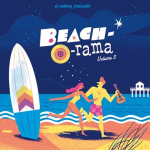VARIOUS - BEACH-O-RAMA VOL. 3 (LP+CD) VINYL