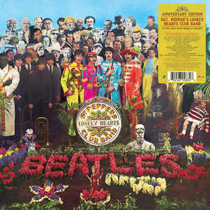 BEATLES - SGT. PEPPER'S LONELY HEARTS CLUB BAND VINYL