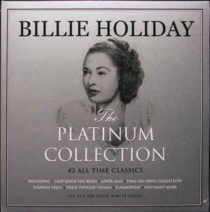 BILLIE HOLIDAY - THE PLATINUM COLLECTION (WHITE COLOURED 3LP) VINYL