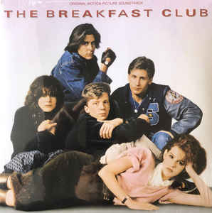 VARIOUS - THE BREAKFAST CLUB SOUNDTRACK VINYL