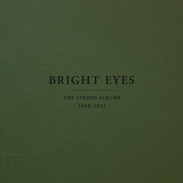 BRIGHT EYES - THE STUDIO ALBUMS 2000-2011 (COLOURED 10LP) VINYL BOX SET
