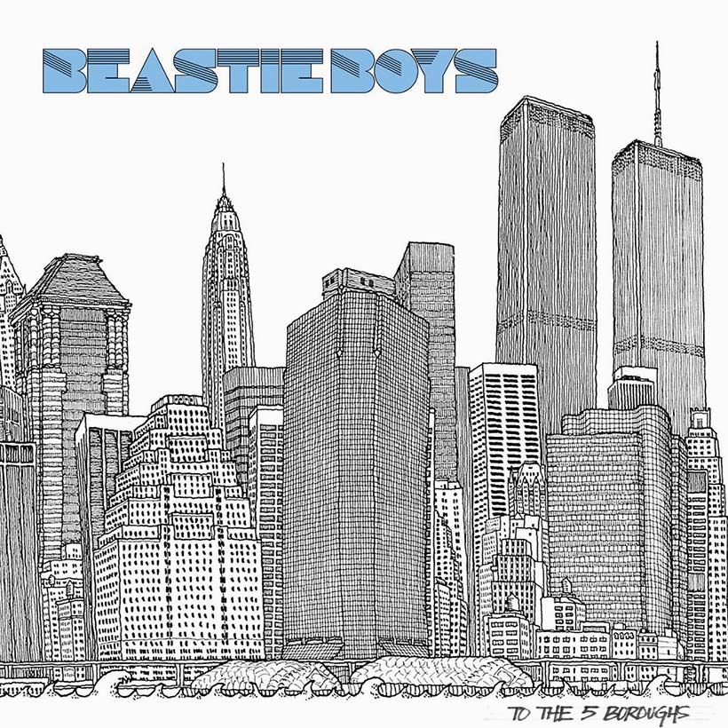 BEASTIE BOYS - TO THE 5 BOROUGHS (2LP) (BLUE COLOURED) VINYL