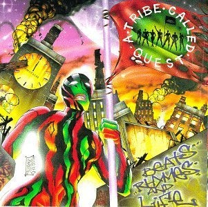 A TRIBE CALLED QUEST - BEATS RHYMES AND LIFE (2LP)  VINYL