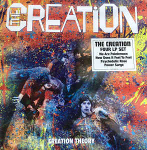 CREATION - CREATION THEORY (COLOURED 4LP) VINYL SET