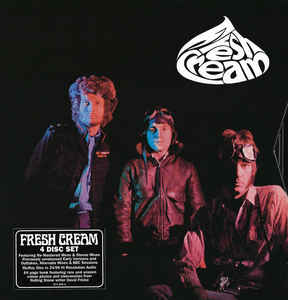 CREAM - FRESH CREAM (4CD) BOX SET
