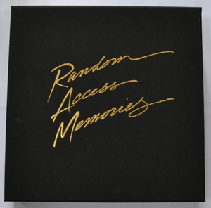 DAFT PUNK ‎– RANDOM ACCESS MEMORIES (BOX SET, DELUXE EDITION, LIMITED EDITION) VINYL