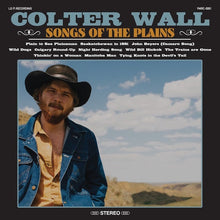 Load image into Gallery viewer, COLTER WALL - SONGS OF THE PLAINS (USED VINYL M-/M-)
