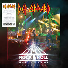DEF LEPPARD - ROCK & ROLL HALL OF FAME 29 MARCH 2019 VINYL RSD 2020