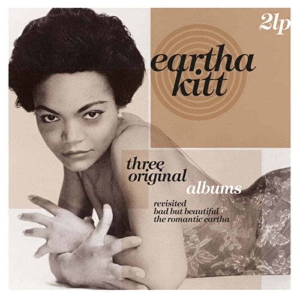 EARTHA KITT - THREE ORIGINAL ALBUMS: REVISITED/ BAD BUT BEAUTIFUL/ THE ROMANTIC EARTHA (2LP) VINYL