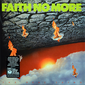 FAITH NO MORE - THE REAL THING (2LP) VINYL