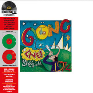 GONG - LIVE AT SHEFFIELD 1974 (RED/GREEN COLOURED 2LP) VINYL RSD 2020