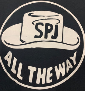 SPENCER P. JONES - ALL THE WAY WITH SPJ TSHIRT BLACK