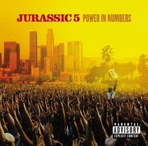 JURASSIC 5 - POWER IN NUMBERS VINYL