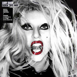 LADY GAGA - BORN THIS WAY (2LP) VINYL