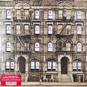 LED ZEPPELIN - PHYSICAL GRAFFITI (2LP) VINYL