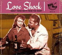 Load image into Gallery viewer, VARIOUS - LOVE SHOCK: ABOUT THOSE BEATS FROM THE HEART CD